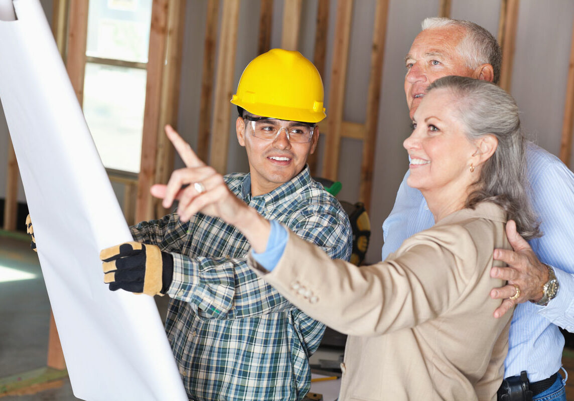 An experienced contractor provides expertise for getting the job done